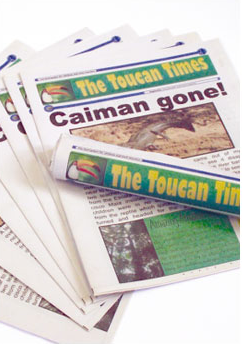 The Toucan Times (15 copies)