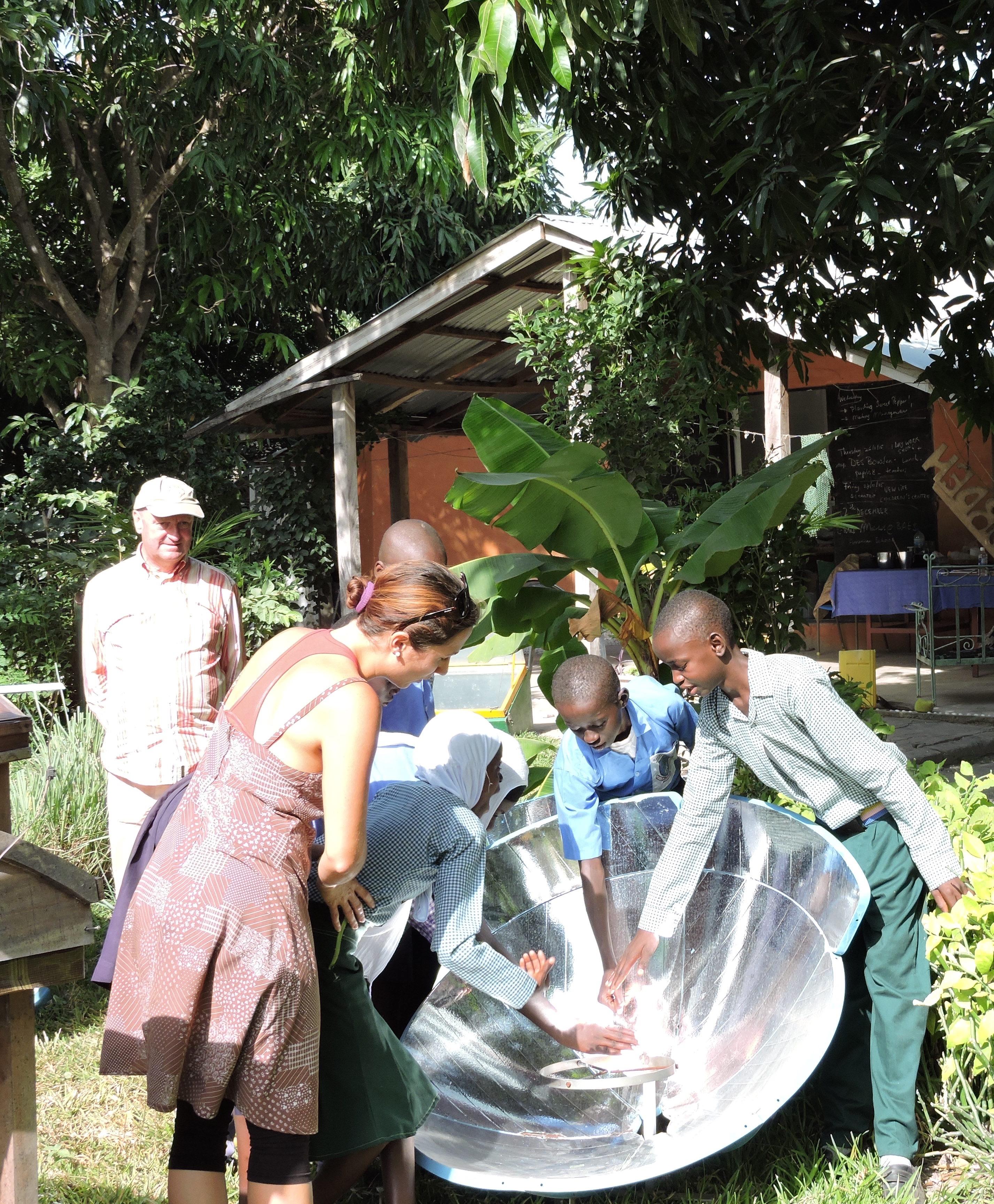 MyFarm Gambian children as environmental ambassadors ...